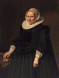Portret van een 68-jarige vrouw