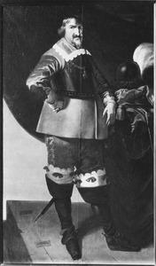 Portret van koning Christiaan IV van Denemarken (1577-1644)
