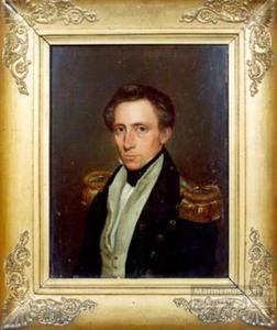 Portret van W.D.J. Mossel Vignon (1808- )