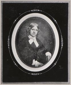 Portret van Jacoba Catharina Abramina Enschedé (1828-1883)