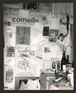 Corneille's atelier aan de Rue Santeuil, Parijs