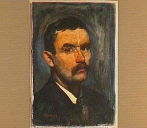 Zelfportret van de schilder Floris Arntzenius (1864-1925)
