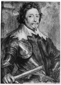 Portret van Frederik Hendrik van Oranje-Nassau (1584-1674)