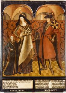 Haarlemse gravenportretten: Gheertruud en Robrecht