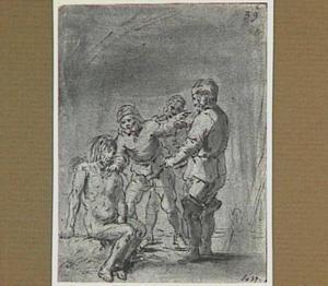 De vissers zien Lazarillo aan voor een zeemonster (Lazarillo de Tormes dl. 2, cap. 4, p. 69)