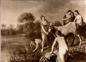 Europa en haar gezellen spelen met de stier (Ovidius Met.II:835-877)