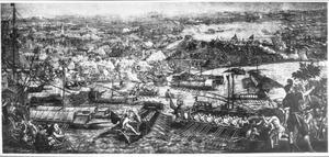 Het beleg van Goleta bij Tunis