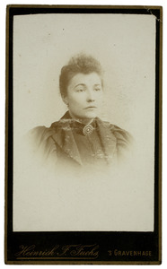 Portret van Elisabeth Johanna Hardenberg (1867-1956)