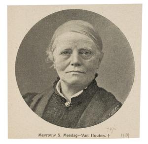 Portret van Sientje Mesdag-van Houten (1834-1909)