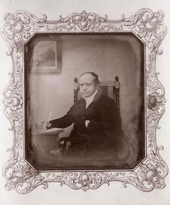 Portret van Jan Willem Moll (1781-1853)