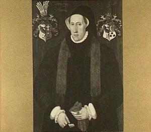 Portret van Cunera van Martena (1500-1564)