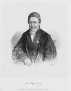 Portret van Matthijs Siegenbeek (1774-1854)