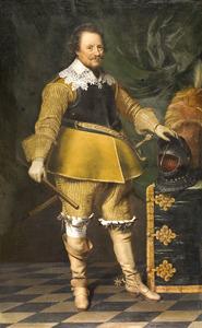 Portret van Ernst Casimir graaf van Nassau-Dietz (1573-1632)