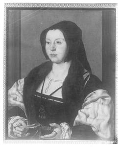 Portret van Anna van Bergen (1492-1541), echtgenote van Adolf van Bourgondië