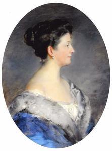 Portret van Thora Nanna Egidius (1865-1945)