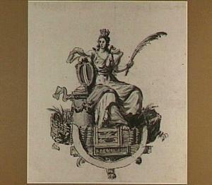 Allegorie op de bescherming van de stad Dordrecht