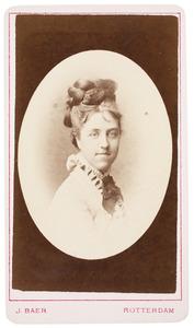 Portret van Marie Elisabeth Dutilh (1855-1940)