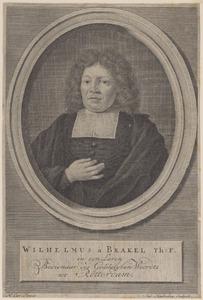 Portret van Wilhelmus à Brakel (1635-1711)