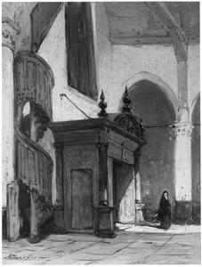 Interieur van de Noorderkerk te Hoorn