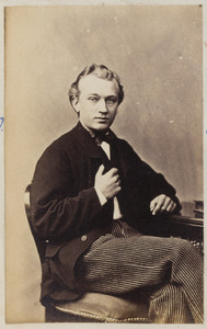 Portret van Jacobus Willem Vorster (1848-1922)