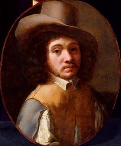 Portret van een man met een hoed