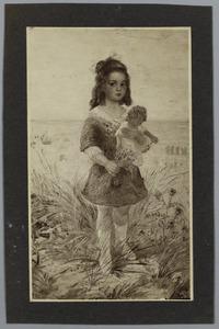 Portret van Alice van Dam Merrett