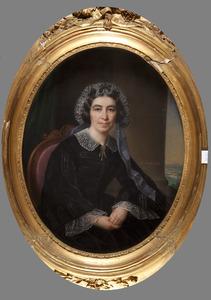 Portret van Constantia Catharina Wilhelmina van Scheltinga (1804-1890)
