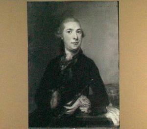 Portret van Jan van Hoogstraten, echtgenoot van Sara Elisabeth van Well