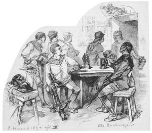 Illustratie bij het leven van Jacoba van Beyeren