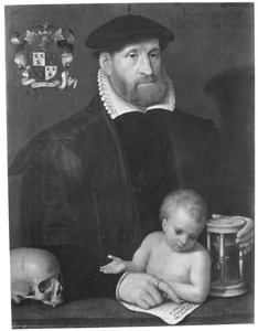 Portret van François van der Straten (....-1572)