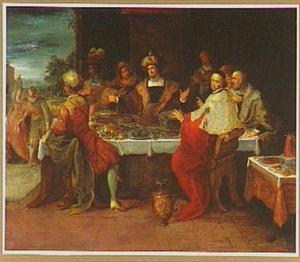De gelijkenis van het koninklijke bruiloftsmaal (Matteus 22:1-14)