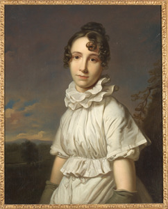Portret van Emma Jane Hodges (1789-1868)