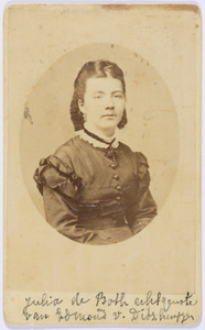 Portret van Julia Eugenia Francisca de Both (1837-1882)