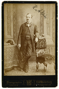 Portret van Hendrik Alexander Elias (1838-1917)