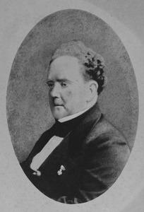 Portret van Martin Pascal Hubert Strens (1807-1875)