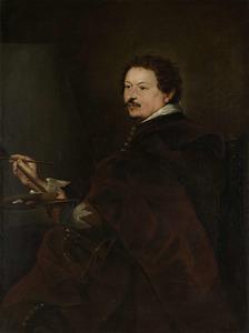 Portret van de marineschilder Andries van Eertvelt (1590-1652)