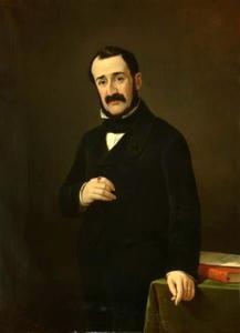 Portret van Mozes Salvador (1813-1884)