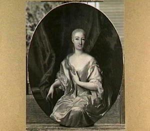 Portret van Agnes Catherina Hoeuft (1689-1758)