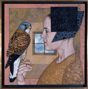Portret van Anne van Gelder