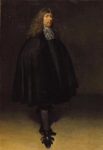 Zelfportret van Gerard ter Borch (1617-1681)