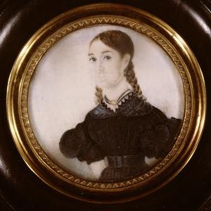 Portret van Johanna Alida Wilhelmina Jac. Falck (1820-1909)