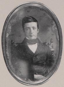 Portret van Jan Willem Witsen Elias (1828-1889)