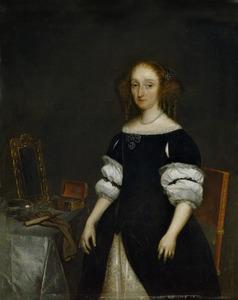 Portret van Petronella de Waert (1628-1709)