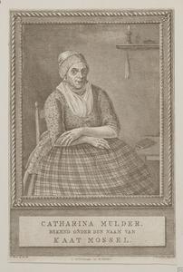 Portret van Catharina Mulder (1723-1798),  bijgenaamd Kaat Mossel