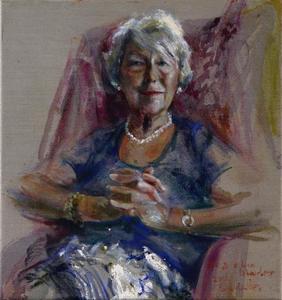 Portret van Martine Louise Amélie Labouchere (1936)