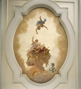 Allegorie op de Alkmaarse kaashandel