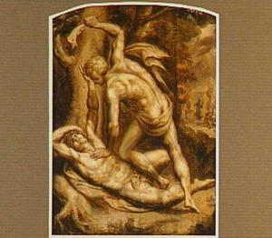 Kaïn slaat Abel dood (Genesis 4:8)