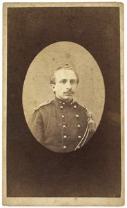 Portret van Gerardus Johannes van der Schroeff (1842-1911)