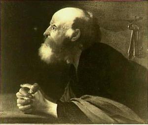 De H. Petrus biddend