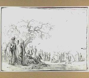 De doop van Christus in de Jordaan (Lukas 3:21)